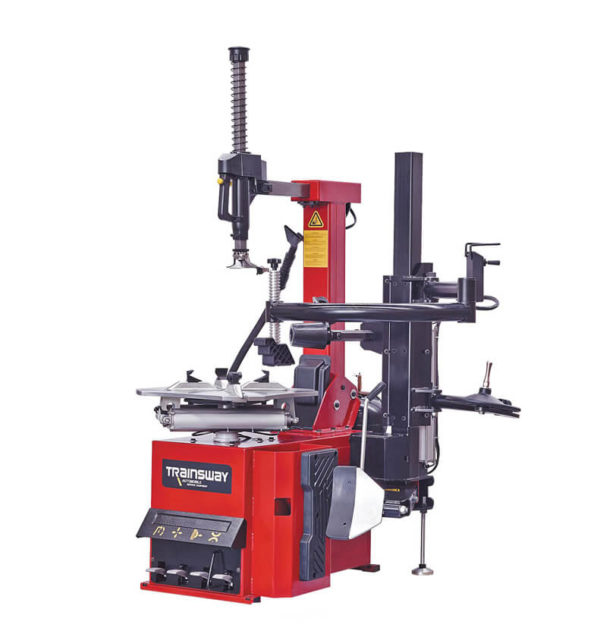 Automatic Tyre Changer With Tilting Back Post With Right Help Arm