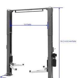 Classic 2 post CL5500C 5.5 tonne