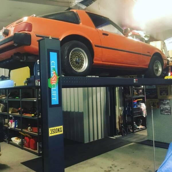 Classic Lift CL3500P Parking Hoist 4 Post a