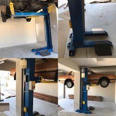 Classic single post lift SL2500...... 1 1
