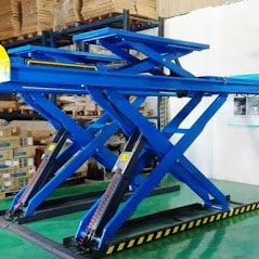 Double Scissor Lift CLDS 4TA 4.0T Alignment