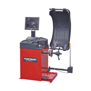 Wheel Balancer With Wide Monitor And Laser Technology