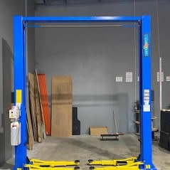 Classic lift 4000 clearfloor 2post