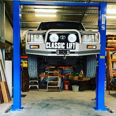 Car hoist classic 4.5tonne 2post hoist