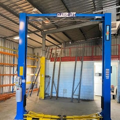 Classic Lift 4000 2post hoist clearfloor c 1 1