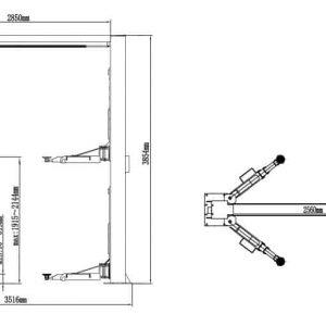 Classic Lift CL4500 2 post