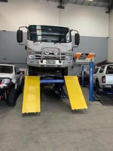 Classic Scissor Lift Alignment 7.3 tonne installed in Sydney