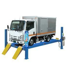 classic 4 post 8 ton 18 Truck Hoist