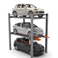 Classic 4 Post parking Lift CLP3