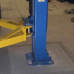 Car Hoist Concrete Drawing Classic Lift Australia