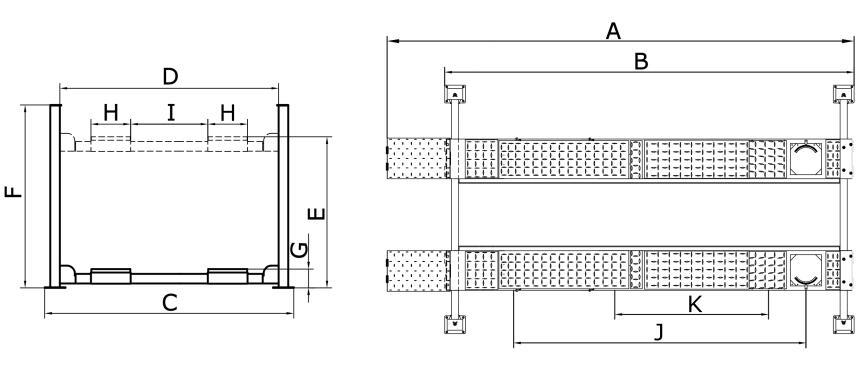 4 Post – 6.5 Ton – Hoist – CL6500 4PAE
